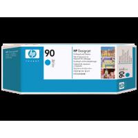 HP 90, Печатающая головка DesignJet, Голубая, со средством очистки for DesignJet 4000/4500. (C5055A)