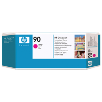 Пурпурная печатающая головка HP 90 с устройством очистки for DesignJet 4000/4500. (C5056A)