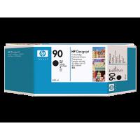 Черный струйный картридж HP 90 400 мл (C5058A)
