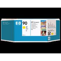 HP 90, Струйный картридж HP, 225 мл, Желтый (C5064A)