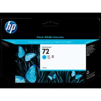 HP 72, Струйный картридж DesignJet, 130 мл, Голубой for Designjet T1100/Т1100ps/Т610, 130 ml. (C9371A)