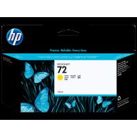 HP 72, Струйный картридж DesignJet, 130 мл, Желтый (C9373A)