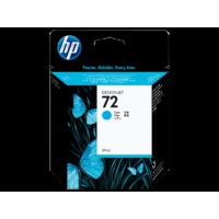 HP 72, Струйный картридж DesignJet, 69 мл, Голубой (C9398A)
