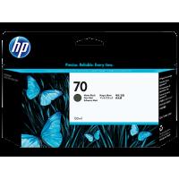 HP 70, Струйный картридж DesignJet, 130 мл, Черный матовый (C9448A)