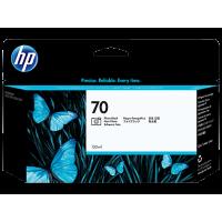 HP 70, Струйный картридж HP, 130 мл, Черный фото (C9449A)