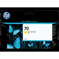 HP 70, Струйный картридж HP, 130 мл, Желтый (C9454A)