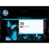 HP 70, Струйный картридж DesignJet, 130 мл, Красный (C9456A)