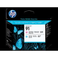 HP 91, Печатающая головка НР, Светло-пурпурная и Светло-голубая (C9462A)