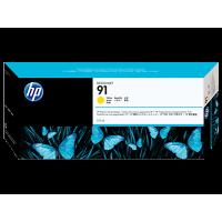 HP 91, Струйный картридж HP, 775 мл, Пигментная основа, Желтый (C9469A)