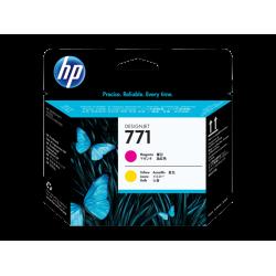 HP 771, Печатающая головка HP Designjet, Пурпурная/Желтая (CE018A)