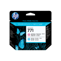 HP 771, Печатающая головка HP Designjet, Светло-пурпурная/Светло-голубая (CE019A)
