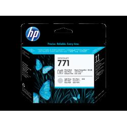 HP 771, Печатающая головка HP Designjet, Черная фото/Светло-серая (CE020A)