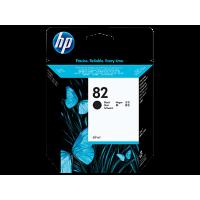 HP 82, Струйный картридж HP, 69 мл, Черный (CH565A)
