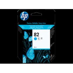 HP 82, Струйный картридж HP, 28 мл, Голубой for DesignJet 500/510/800/820/815, 28 ml. (CH566A)