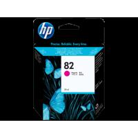 HP 82, Струйный картридж HP, 28 мл, Пурпурный for DesignJet 500/510/800/820/815, 28 ml. (CH567A)