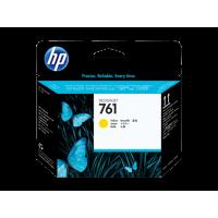HP 761, Печатающая головка HP Designjet, Желтая for Designjet T7100. (CH645A)