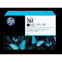 HP 761, Струйный картридж HP Designjet, 400 мл, Черный матовый for Designjet T7100, 400 ml. (CM991A)