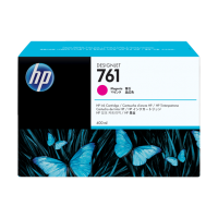 HP 761, Струйный картридж HP Designjet, 400 мл, Пурпурный for Designjet T7100, 400 ml. (CM993A)