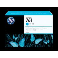 HP 761, Струйный картридж HP Designjet, 400 мл, Голубой (CM994A)