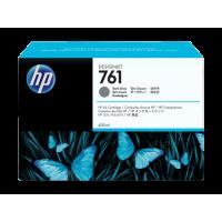 HP 761, Струйный картридж HP Designjet,400 мл, Темно-серый for Designjet T7100, 400 ml. (CM996A)