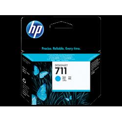 HP 711, Струйный картридж HP, 29 мл, Голубой for Designjet T120/T520 ePrinter, 29 ml. (CZ130A)