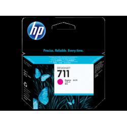 HP 711, Струйный картридж HP, 29 мл, Пурпурный for Designjet T120/T520 ePrinter, 29 ml. (CZ131A)
