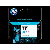HP 711, Упаковка 3шт, Струйные картриджи HP, 29 мл, Голубые (CZ134A)