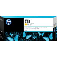 HP 728, Струйный картридж DesignJet, 300 мл, Желтый (F9K15A)