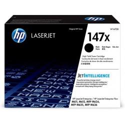 HP 147X, Оригинальный тонер картридж повышенной емкости для Лазерного принтера M611/M612/M635/M636 (W1470X)