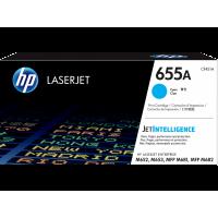 HP LaserJet 655A, Оригинальный лазерный картридж, голубой for Color LaserJet M652/M653/M681/M682, up to 10500 pages (CF451A)