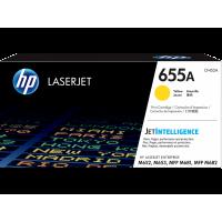 HP LaserJet 655A, Оригинальный лазерный картридж, желтый for Color LaserJet M652/M653/M681/M682, up to 10500 pages (CF452A)