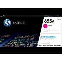 HP LaserJet 655A, Оригинальный лазерный картридж, пурпурный for Color LaserJet M652/M653/M681/M682, up to 10500 pages (CF453A)