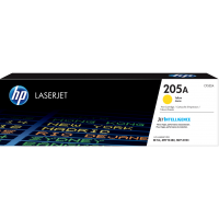 Оригинальный картридж HP LaserJet 205A, желтый for M180n/M181fw, up pages 900 pages (CF532A)