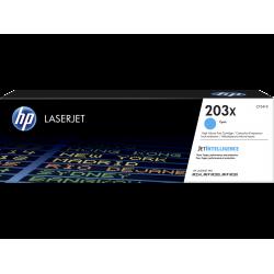 Оригинальный картридж увеличенной емкости HP LaserJet 203X, голубой for M254/M280/M281, 2500 pages (CF541X)