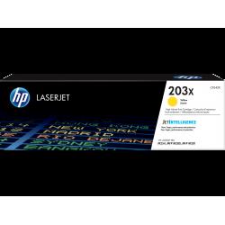 Оригинальный картридж увеличенной емкости HP LaserJet 203X, желтый for M254/M280/M281, 2500 pages (CF542X)