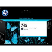 HP 745, Струйный картридж HP DesignJet, Черный матовый, 130 мл for DesignJet Z2600/Z600 (F9J99A)