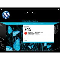 HP 745, Струйный картридж HP DesignJet, Хроматический красный, 130 мл for DesignJet Z2600/Z600 (F9K00A)