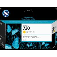 Струйный картридж HP 730 для HP DesignJet T1700, 130 мл, желтый (P2V64A)