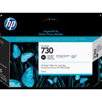 Струйный картридж HP 730 для HP DesignJet T1700, 130 мл, черный фото (P2V67A)